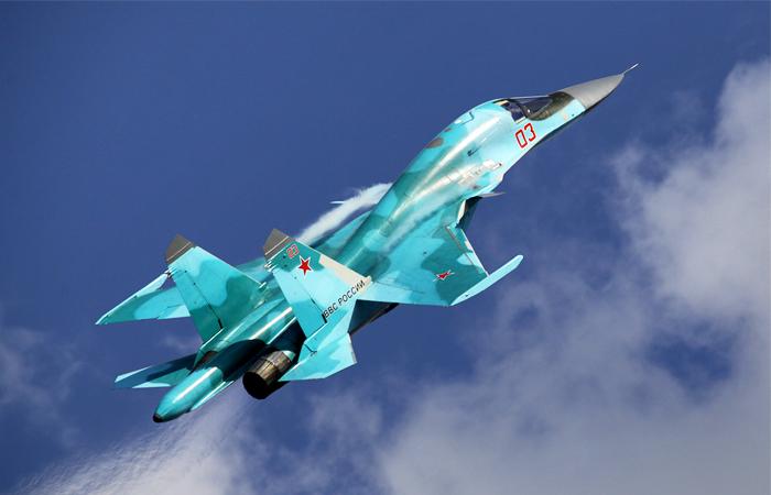 Истребители Су-34 иМиГ-29СМТ выполнили перехват встратосфере