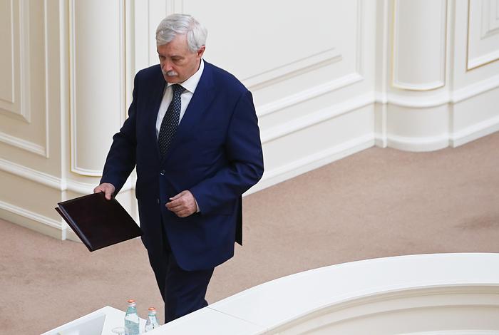 В Смольном отказались комментировать слухи об отставке Полтавченко