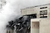 Пострадавшую от пожара библиотеку ИНИОН в Москве решили восстановить