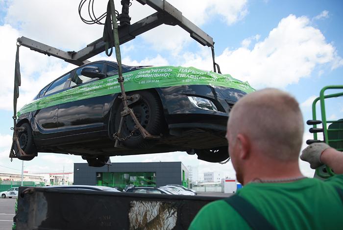 Власти Москвы решили не менять тарифы на эвакуацию автомобилей