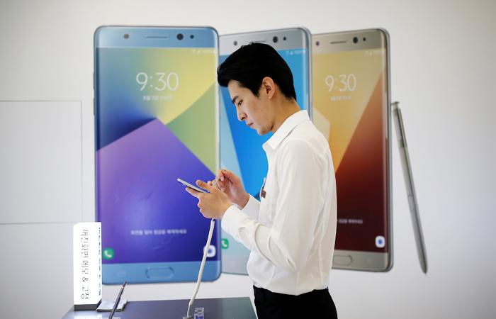 Samsung объявил о приостановке продаж смартфона Galaxy Note 7