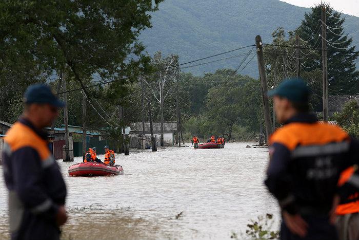 РФпопросила КНР снизить сброс воды наводохранилищах— Наводнение вПриморье