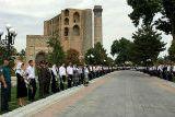 Первый президент Узбекистана Каримов был похоронен в Самарканде