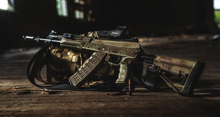 Автомат нового поколения АК-12