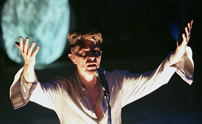 Прах Дэвида Боуи развеяли на фестивале Burning Man