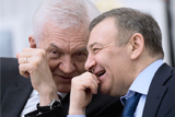 Путин объявил благодарность бизнесменам Тимченко и Ротенбергам