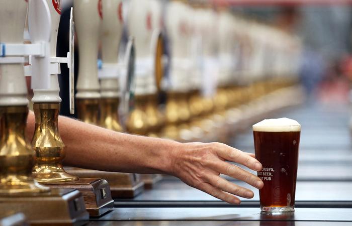 Россия увеличила экспорт пива на Украину вопреки эмбарго