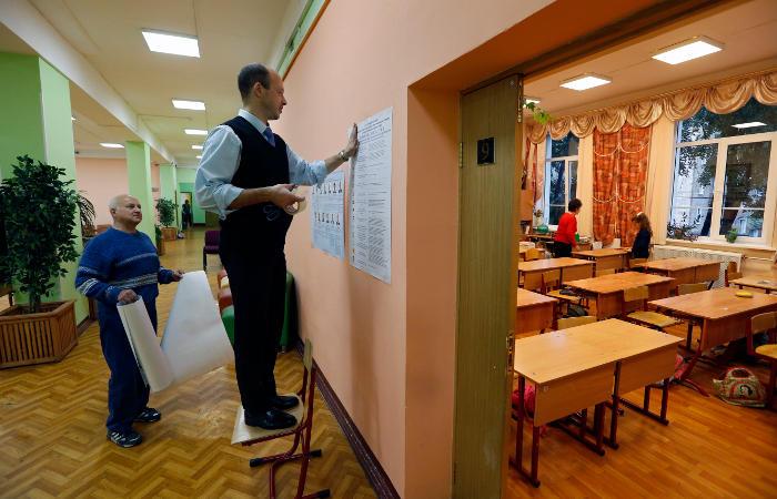 В России начались парламентские выборы