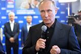 Путин увидел в результате выборов ответ на внешнее давление на Россию