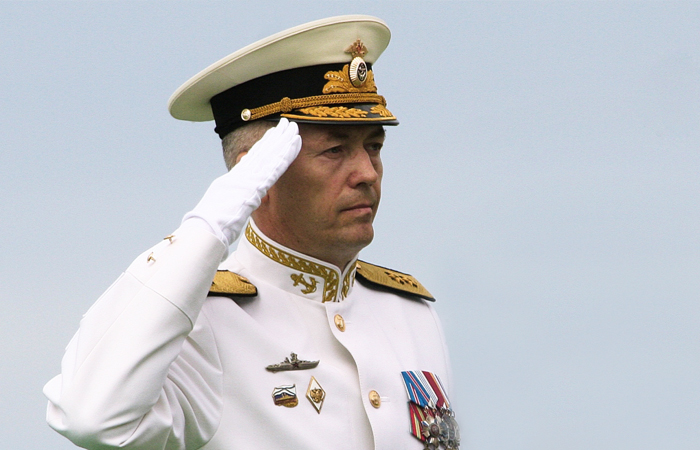 Путин назначил Носатова надолжность командующего Балтийским флотом