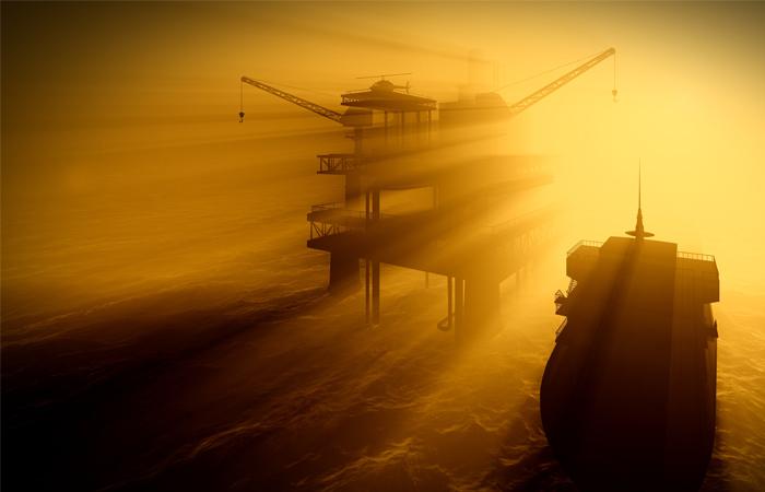 Работа поустранению выброса газа наплатформе номер 19 месторождения «Гюнешли» продолжается