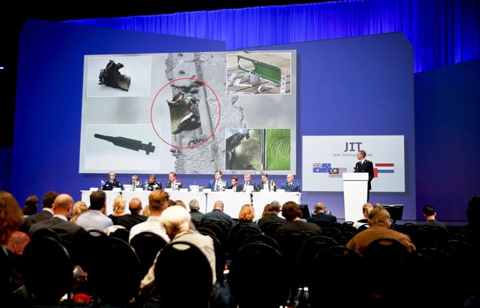 Международная группа следователей не выдвинула обвинений против России в крушении MH17