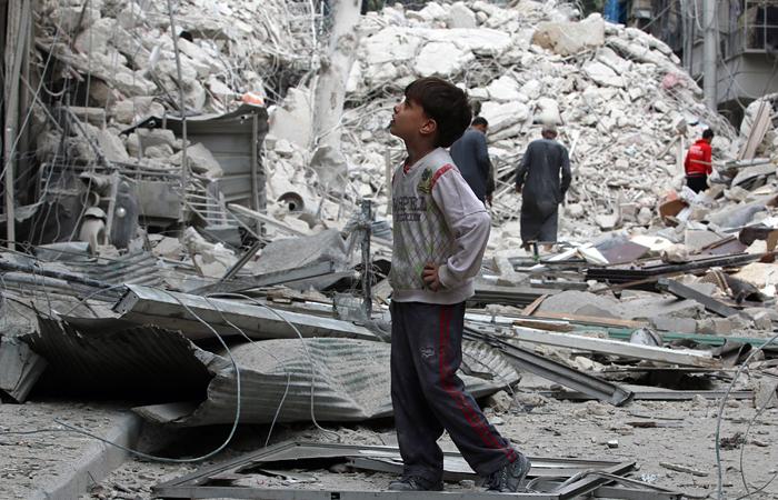"""Террористы использовали """"живой щит"""" в боях в Алеппо"""