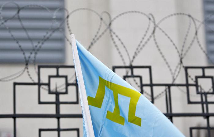 НаМайдане Незалежности прошел митинг вподдержку Меджлиса: «Stop Crimean Tatar Genocide»