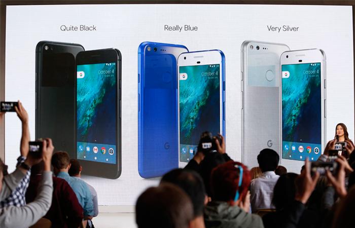 Google представил свои первые смартфоны Pixel