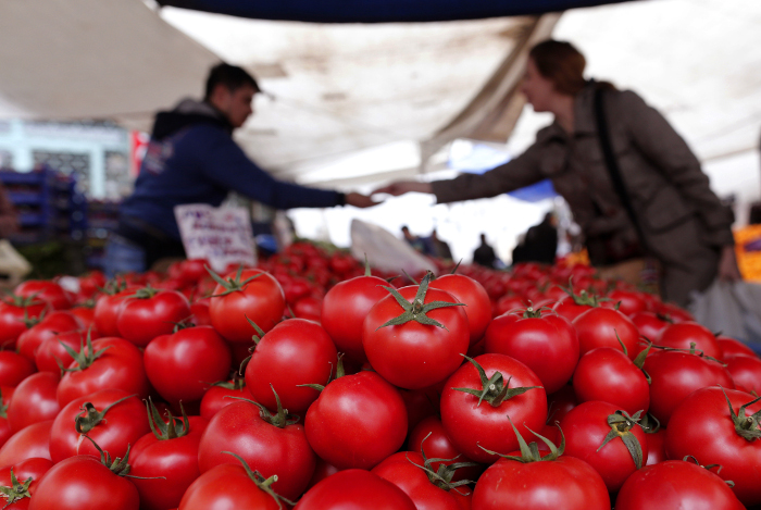 Турция и РФ обсудят возврат турецких овощей и фруктов на российский рынок
