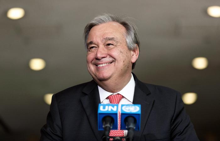 Новым генеральным секретарем ООН будет комиссар поделам беженцев Гутьерреш