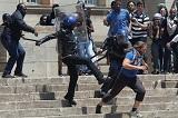 Столкновения между студентами и полицией прошли в Йоханнесбурге