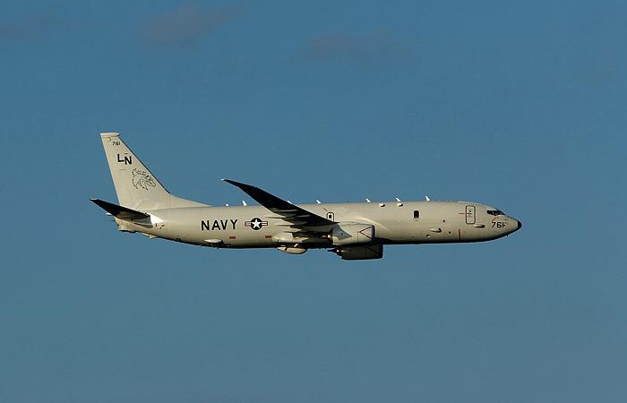Военный самолет США приблизился к российской базе в Сирии