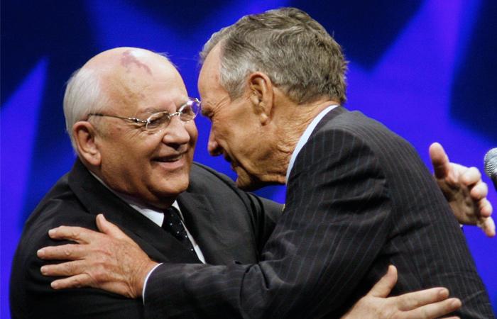 Горбачев иБуш-старший намерены содействовать нормализации отношений междуРФ иСША
