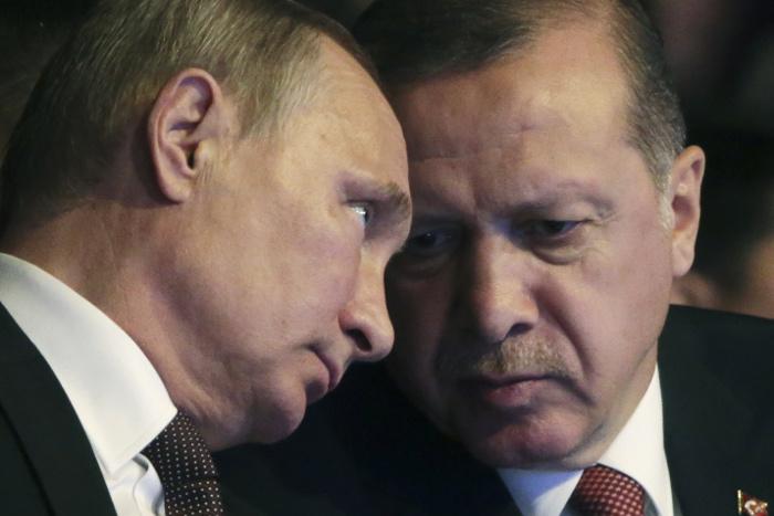 Путин и Эрдоган обсудили вопросы урегулирования сирийского кризиса
