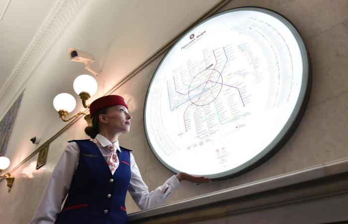 Навсех станциях московского метро появятся табло обратного отсчета