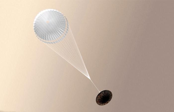 "Модуль ""Скиапарелли"" разбился при посадке на Марс"