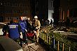 Сотрудники МЧС и скорой помощи во время спасательных работ на месте ЧП