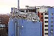 Разбор завалов в поврежденной многоэтажке