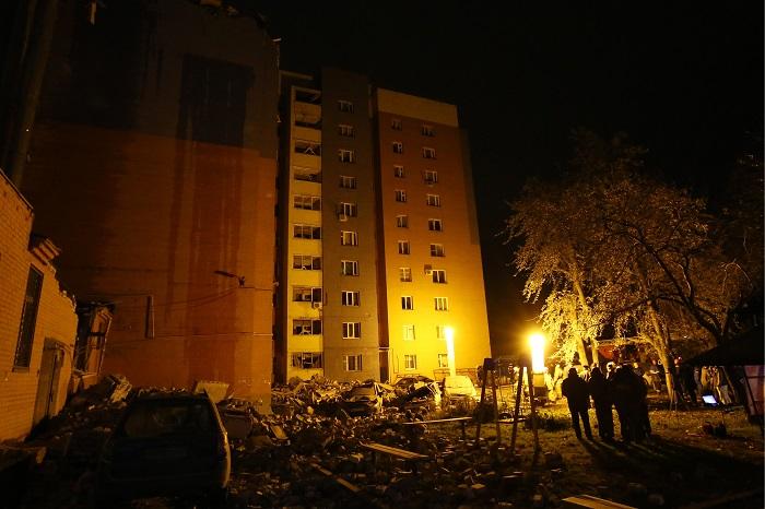 При взрыве газа в Рязани пострадали 10 человек