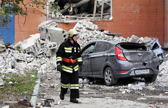 Еще четыре тела обнаружили под завалами разрушенного взрывом дома в Рязани