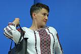 Савченко приехала в Москву на апелляцию по делу Клыха и Карпюка