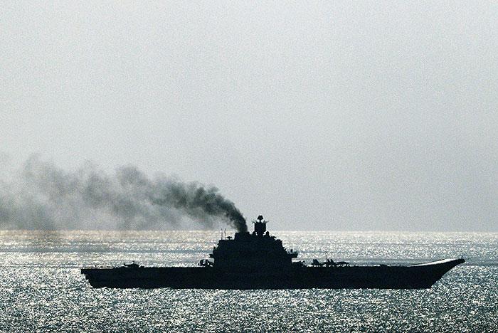 Россия отозвала запрос на заход военных кораблей в испанскую Сеуту
