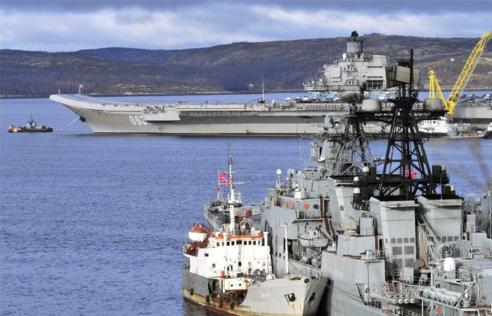 "В Минобороны опровергли планы захода ""Адмирала Кузнецова"" в испанский порт"