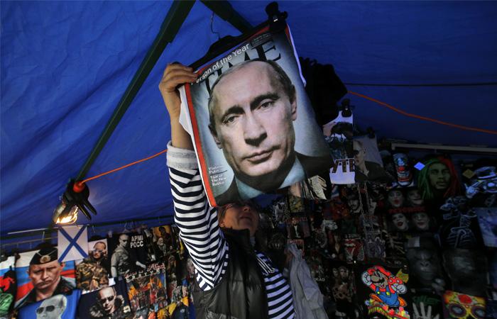 Рейтинг В. Путина достиг максимума загод