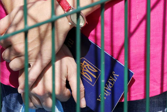 Жители России поддерживают введение визового режима с государством Украина