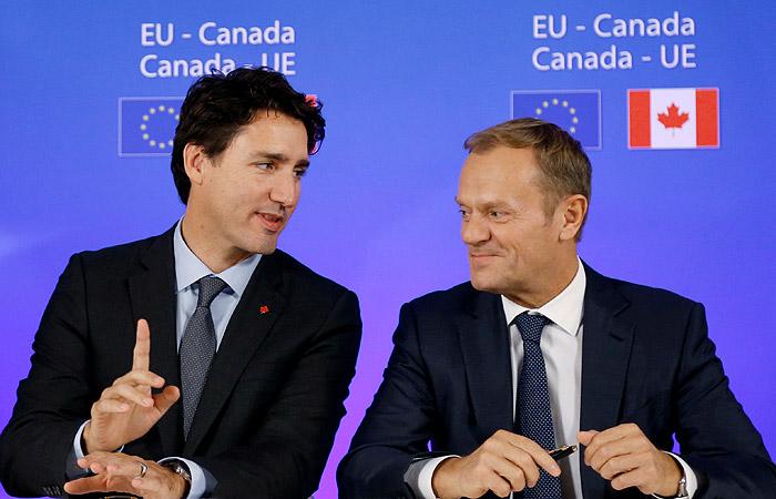 Канада и EC сообщили оготовности совместно давить на Российскую Федерацию