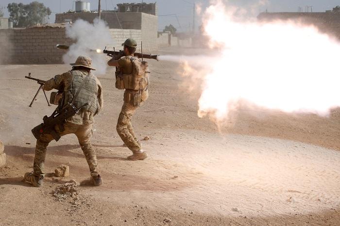 Шиитские формирования открыли фронт против «Исламского государства» около Мосула