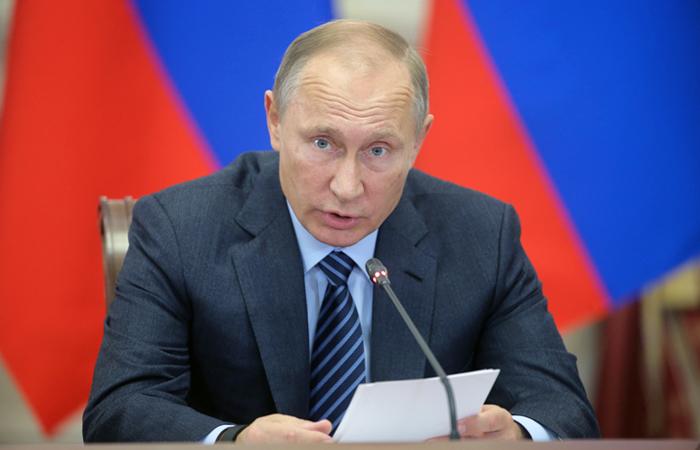 Путин поддержал идею разработки закона о российской нации