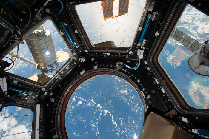 Экипаж экспедиции наМКС объявил конкурс налучшую эмблему для корабля