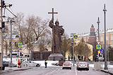 В Москве открыли памятник князю Владимиру