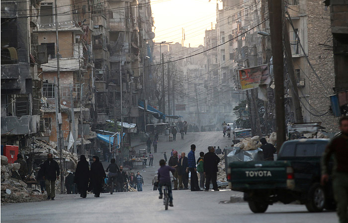 В районе Алеппо ранены двое российских военнослужащих