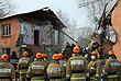 Поисково-спасательная операция на месте взрыва газа в доме на Минской улице