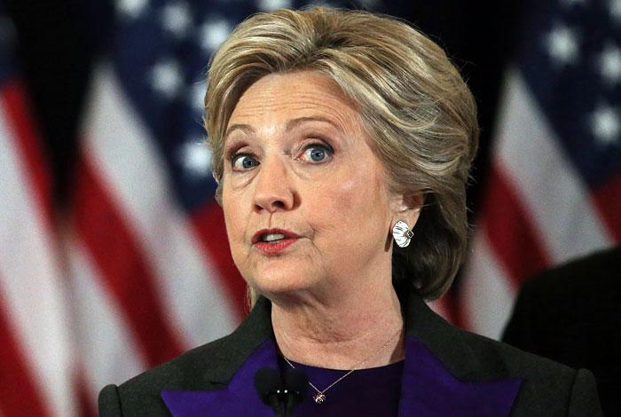 Хиллари Клинтон призвала приверженцев признать еепоражение навыборах