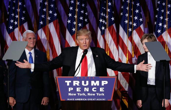 Трамп одержал победу в 29 штатах