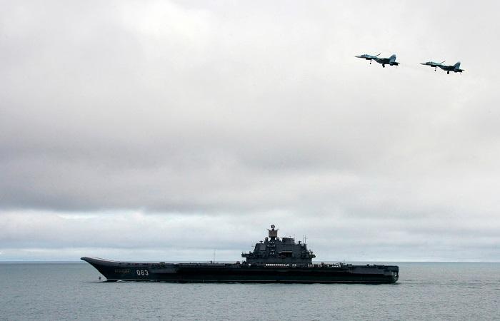 "Пентагон заявил о полетах авиации ""Адмирала Кузнецова"" над Сирией"