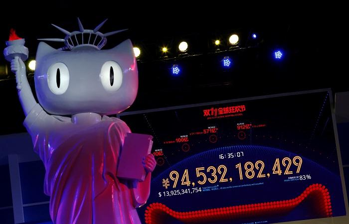Продажи Alibaba в День холостяка оценили в 20 млрд долларов