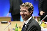 Журнал Fortune назвал бизнесменом года создателя Facebook Марка Цукерберга