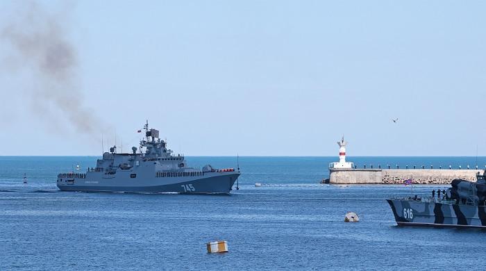 """Фрегат """"Адмирал Григорович"""" подготовился к выполнению боевых задач в Сирии"""