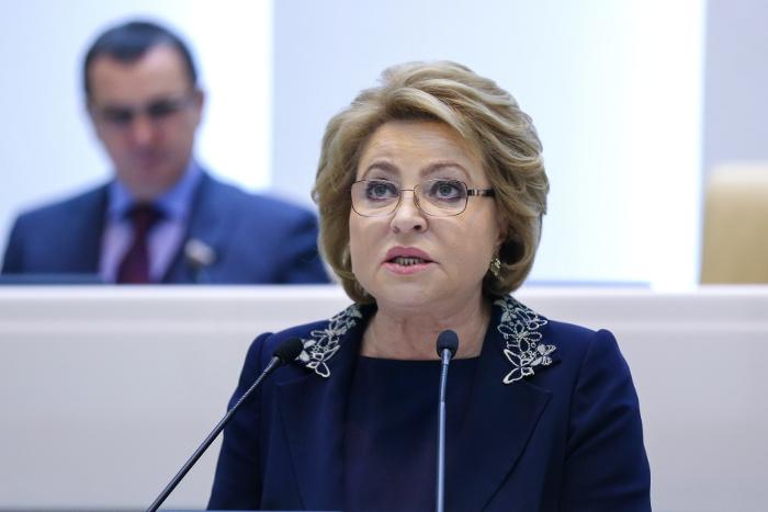 Матвиенко обсудит вопросы безопасности с руководством Ирана